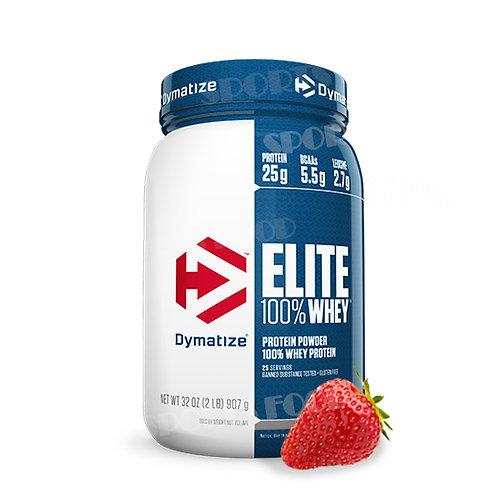 Dymatize-Elite Whey Protein 920 гр - клубника