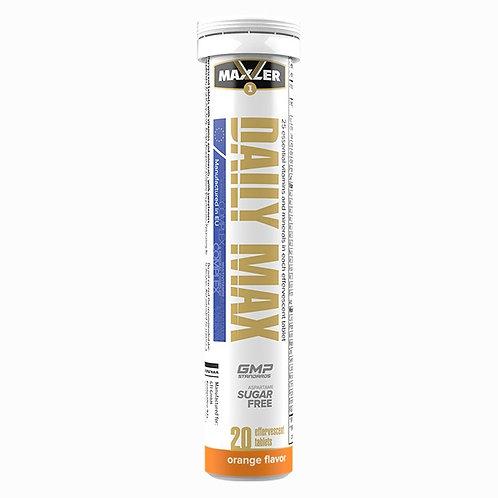 Maxler-Daily Max 20 шипучих таблеток - апельсин