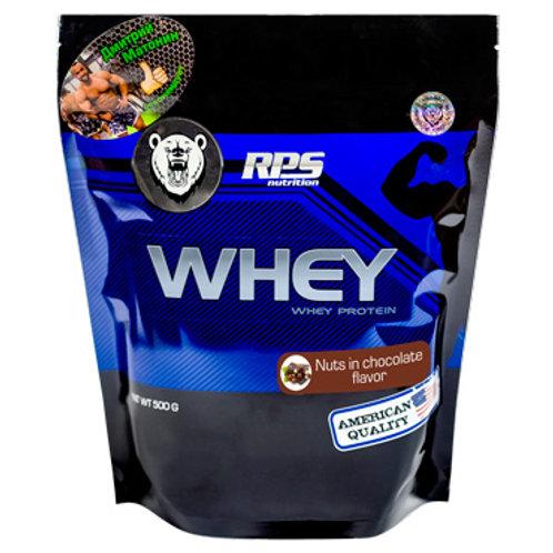 RPS Nutrition-Whey Protein 500 г - орехи в шоколаде