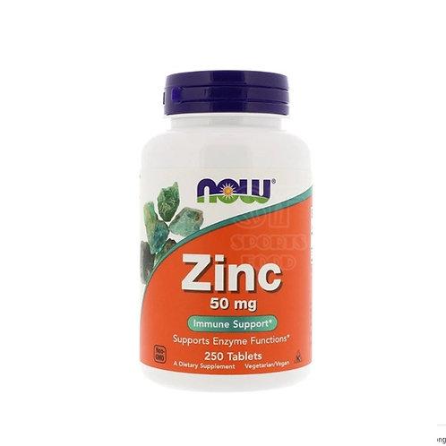 NOW -Zinc 50 мг 250 таб