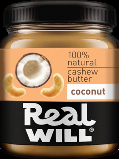 Real WILL-Паста из кешью и кокоса 0,3кг