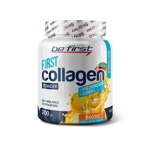 Be First-Collagen/hyaluronic acid /vit C 200 гр - экзотик