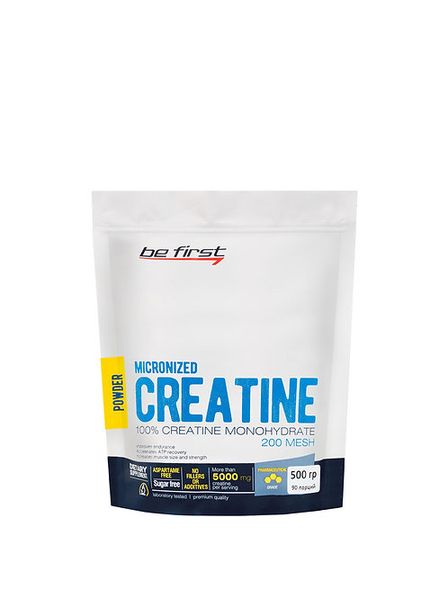 Be First-Micronized CREATINE monohydrate powder - 500 гр