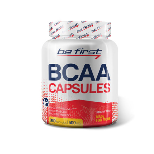 Be First-BCAA Capsules 350 капс