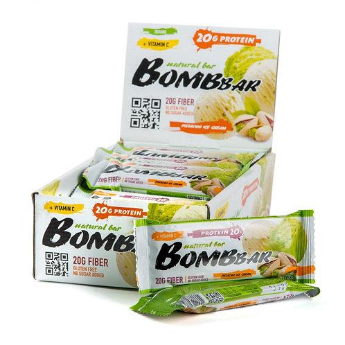 BOMBBAR-Батончик Bombbar 20*60 г - фисташковый пломбир
