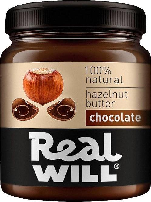 Real WILL-Паста из фундука и шоколада 0,3