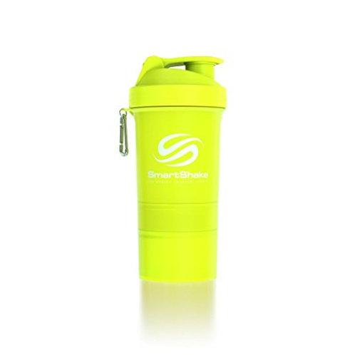 SmartShake-Шейкер Neon 600 мл - желтый