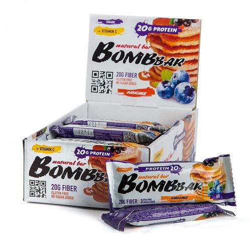 BOMBBAR-Батончик Bombbar 20*60 г - смородиново-черничный панкейк