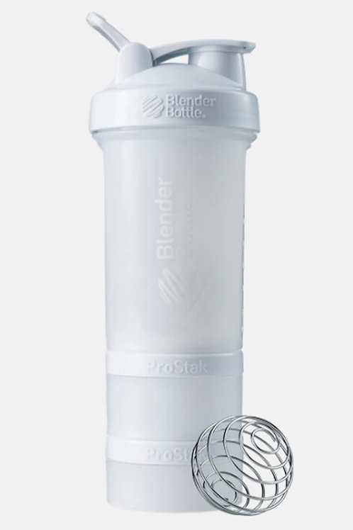 BlenderBottle-ProStak Full Color 624 мл + 100 мл + 150 мл white/белый