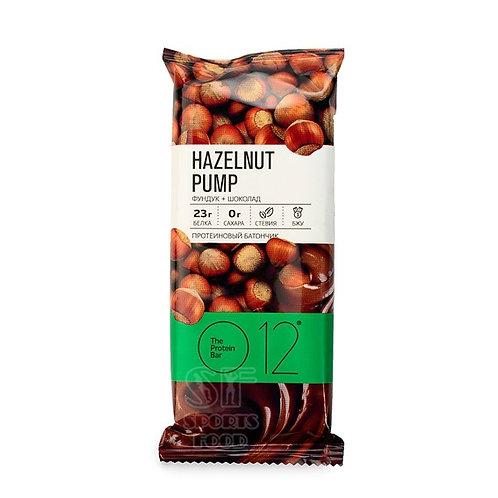O12Nutrition-Вафельный батончик с какао и фундуком в молочном шоколаде