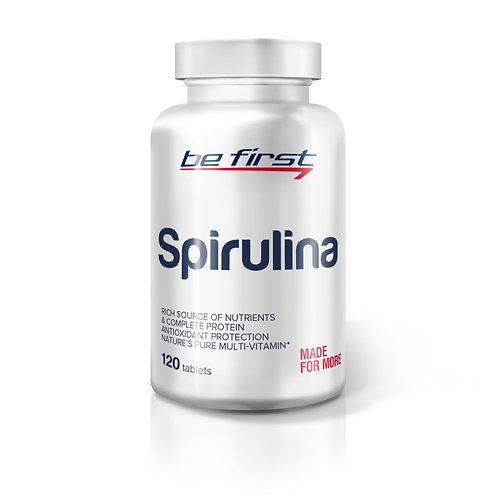 Be First-Spirulina 120 таб
