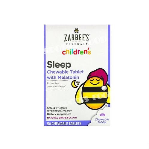 Zarbees Naturals-Sleep childrens 30 жев табл