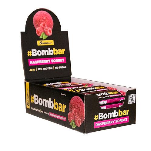 BOMBBAR-Батончик глазированный 30*40 гр - малиновый сорбет