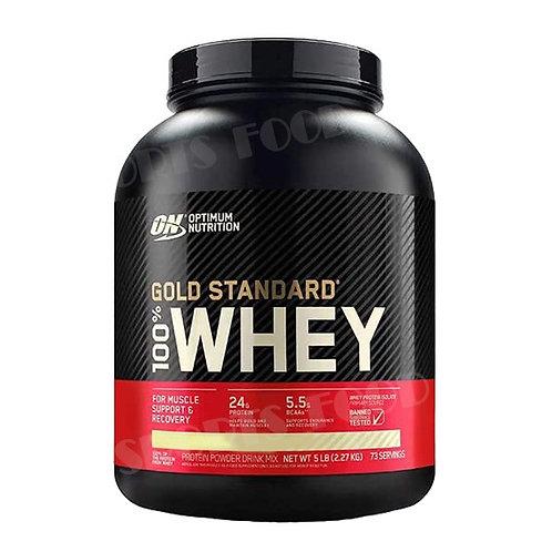 Optimum Nutrition-100% Whey Gold Standard 2270 гр - печенье-сливки