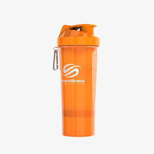 SmartShake-Шейкер Neon 500 мл - оранжевый slim