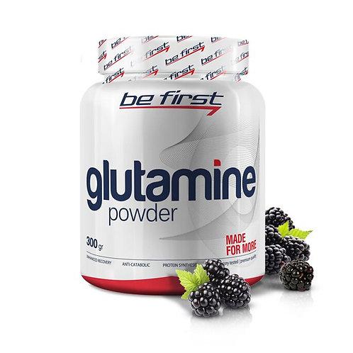 Be First-Glutamine powder 300 гр - ежевика