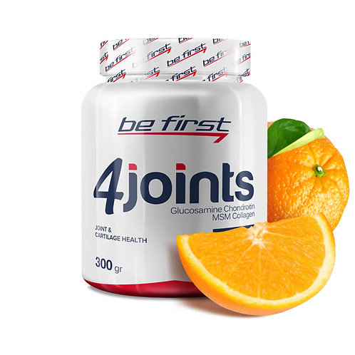 Be First-4joints powder 300 гр - апельсин