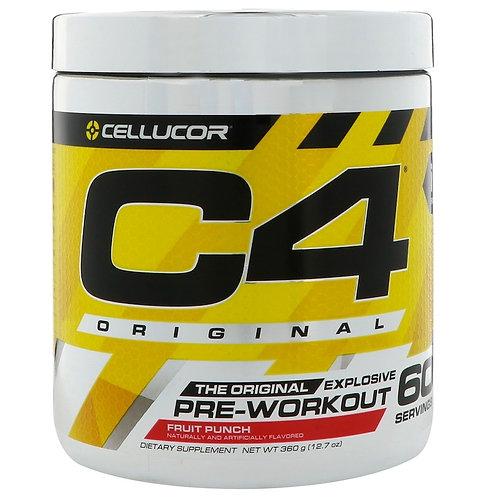 Cellucor-C4 PRE-WORKOUT 390 г - фруктовый пунш (60 порций)