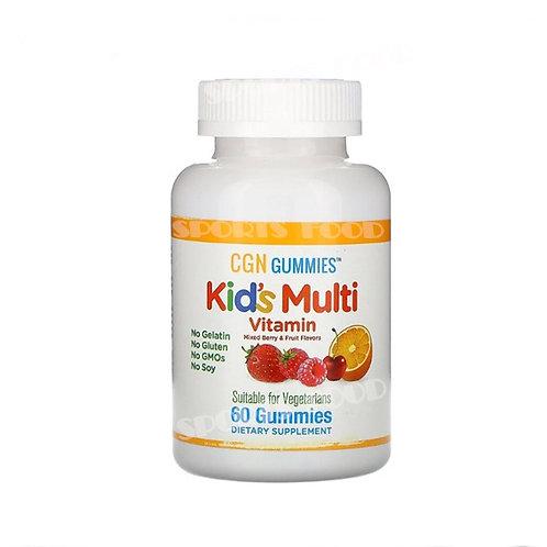 California GOLD Nutrition-Kids Multi vitamin 60 жев таб