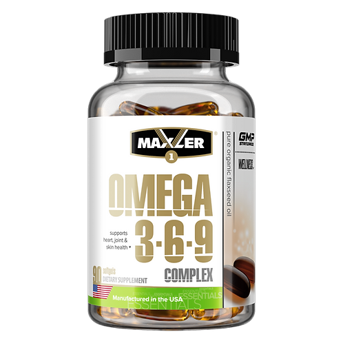Maxler-Omega-3-6-9 Сomplex 90 капс