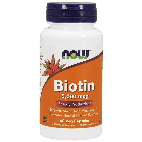 NOW -Biotin 5000 60 кап