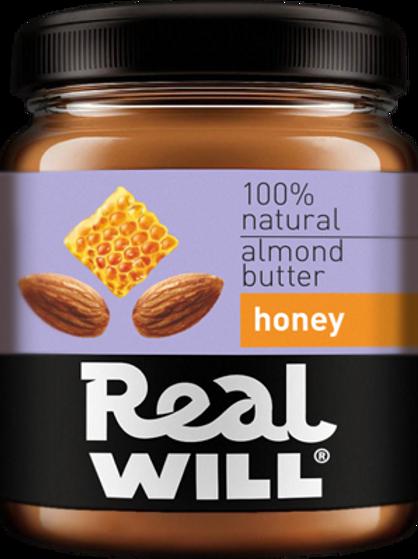 Real WILL-Миндальная паста 0,3 кг