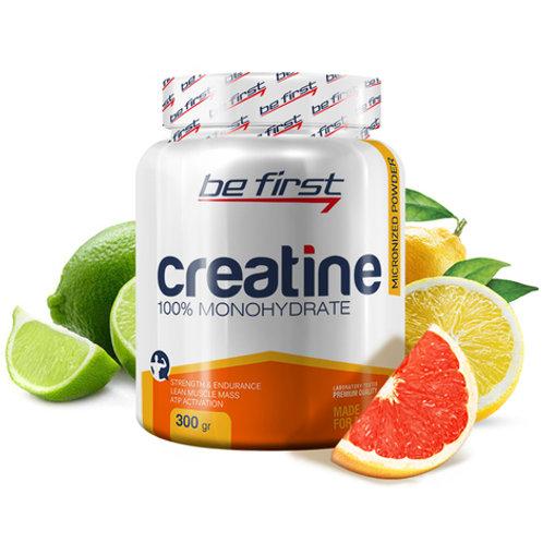 Be First-Creatine powder 300 гр - цитрусовый микс
