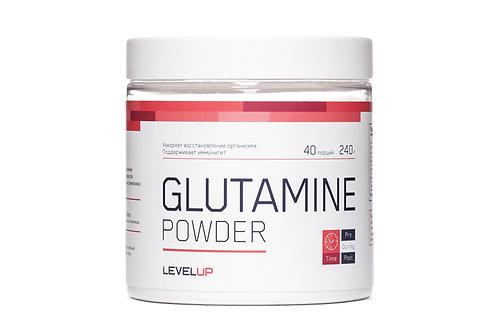 LevelUp-Glutamine Powder 240 г