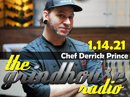 Chef Derrick Prince from 'MasterChef' Joins The Grindhouse Radio