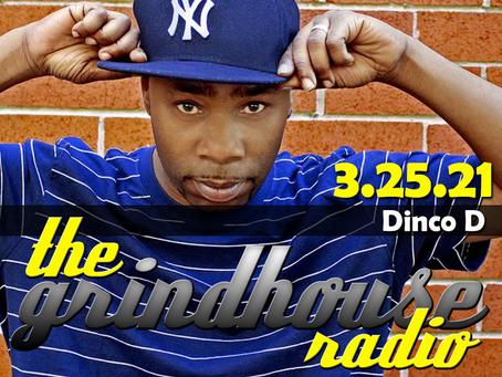 Rapper Dinco D Joins The Grindhouse Radio