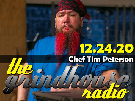 Chopped Chef Timothy Peterson Joins The Grindhouse Radio