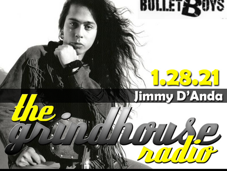 'Bullet Boys' Drummer Jimmy D'Anda Joins The Grindhouse Radio
