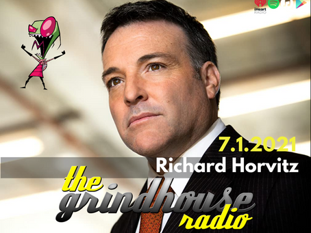 Richard Horvitz from Invader Zim to Guest Spot On The Grindhouse Radio
