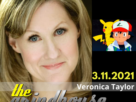 Veronica Taylor 'Ash Ketchum' Joins The Grindhouse Radio