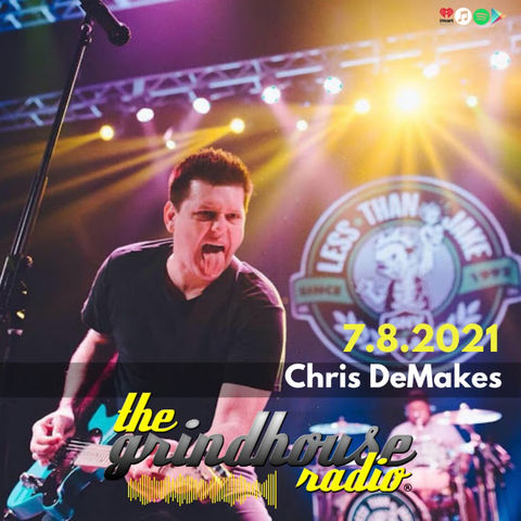 Chris DeMakes from Less Than Jake To Guest On The Grindhouse Radio