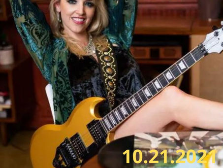 Britt Lightning from Girl Band Vixen Joins The Grindhouse Radio