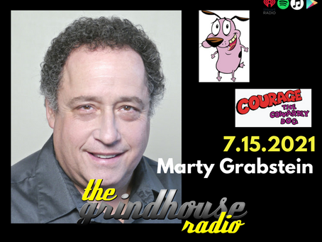 Marty Grabstein From Courage The Cowardly Dog Joins The Grindhouse Radio