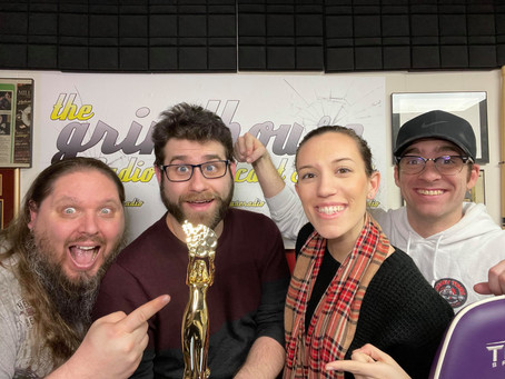 The Grindhouse Radio Wins 2021 Gold AVA Digital AWARDS