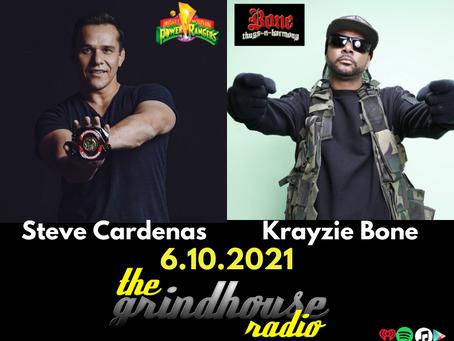 Steve Cardenas Meets Krayzie Bone on The Grindhouse Radio