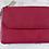 Thumbnail: Italian Leather Card Purse (Grape)