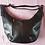 Thumbnail: Leather Crescent Moon Bag ( Dark Brown)