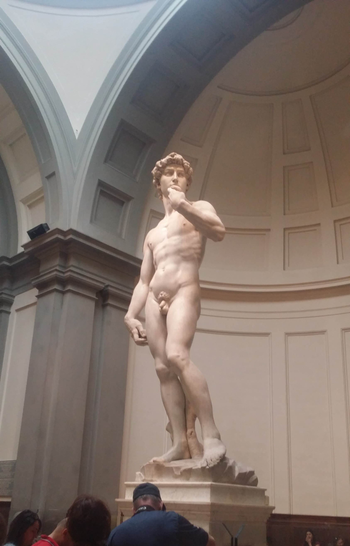 Statue of David (inside Accademia Firenz