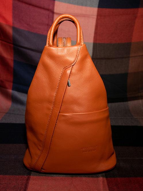 Leather Rucksack in Full Tan