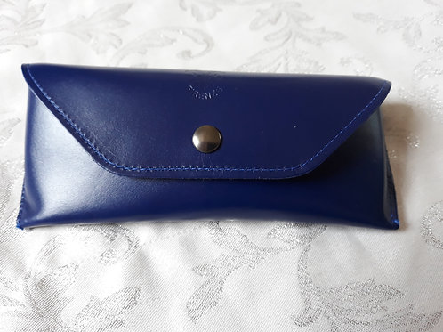 Leather Glasses Case (Midnight Blue)