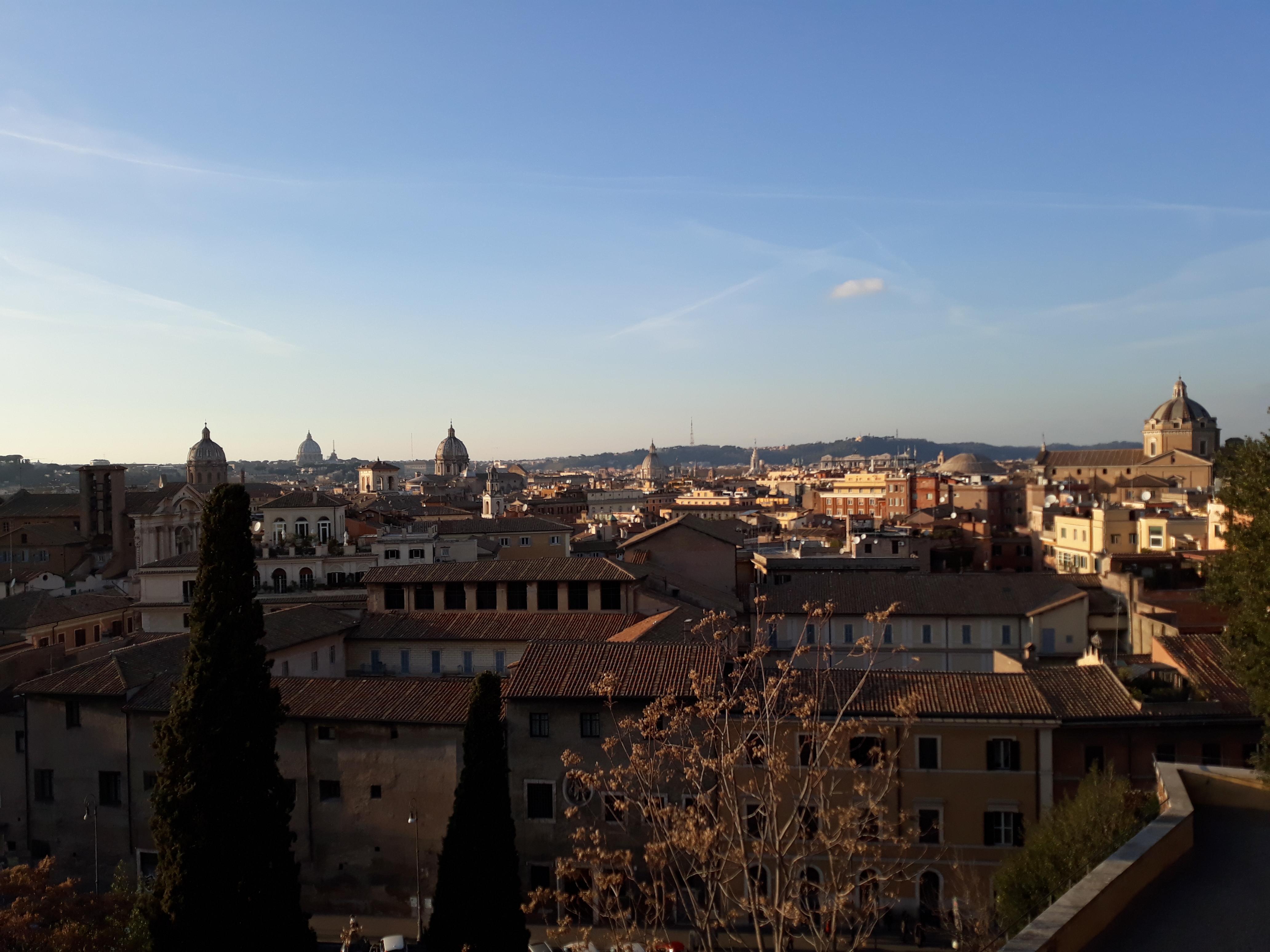 Taken over Rome