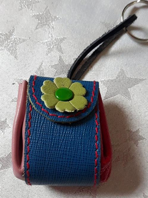 Pouch Keyring (Blue)