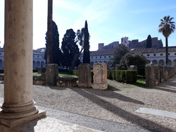 Courtyard Roman museum baths