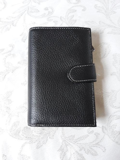Italian Leather Purse (Dark Brown)