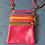 Thumbnail: Zip Purse Leather bag (Pink)