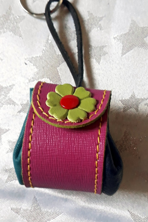 Pouch Keyring (Pink)